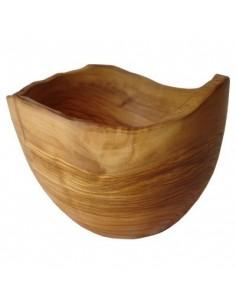 Olive wood fruit and salad bowl nr. 2 (piece unique)
