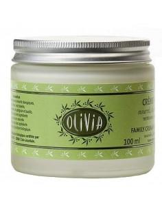 Olivia, Crème Hydratante Bio à l'huile d'olive & beurre de karité, Marius Fabre, 100 ml