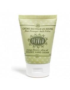 Olivia, Crème pour les Mains Bio 50 ml à l'huile d'olive, Fleurs d'Oranger