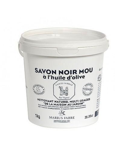 Savon Noir en pâte, Marius Fabre, 1 kg