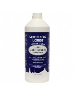 Liquid black soap, all purpose cleaner, Marius Fabre, 1 l