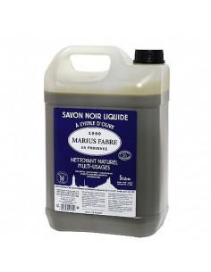 Schwarze Olivenöl-Flüssigseife, Marius Fabre, 5 l
