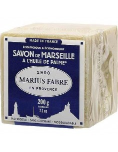 "Cube of Savon de Marseille 200g ""Palm"""