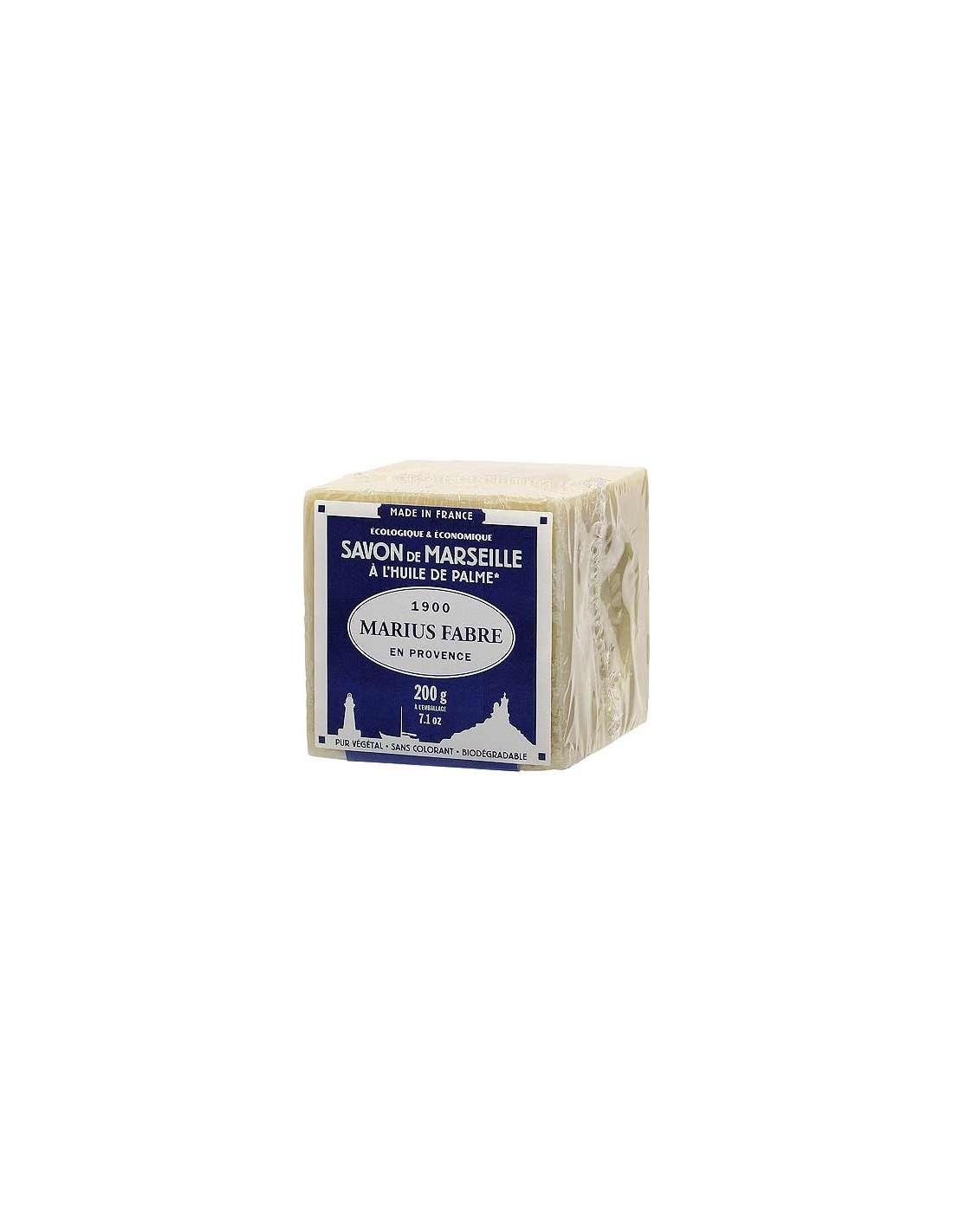 cube of savon de marseille lavoir marius fabre 200 g 400 g 600 g palm oil. Black Bedroom Furniture Sets. Home Design Ideas