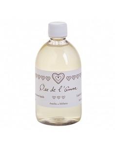 Refill Liquid Soap, Que de l'Amour, Amélie et Mélanie, 500 ml