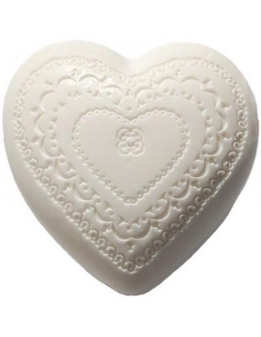 Herz Seife, Que de l'Amour, Amélie et Mélanie, 100 g