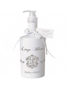 Savon liquide, Linge blanc, Amélie et Mélanie, 300 ml