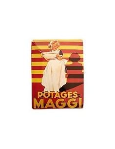 Maggi Metallschild