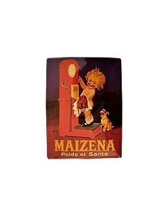 Maizena Metallschild