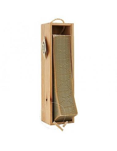 Barre de Savon de Marseille dans un coffret en bois, Marius Fabre, 2,5 Kg