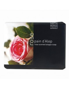Pain d'Alep soap rose - Tadé, 100 g,