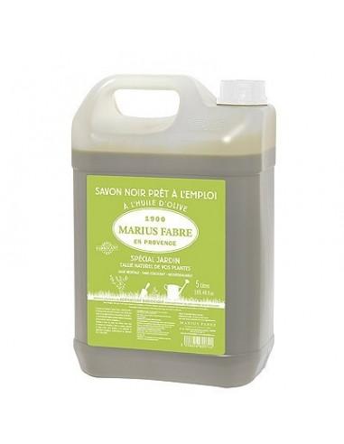 "Black liquid soap ""especially for garden"", 5 L"