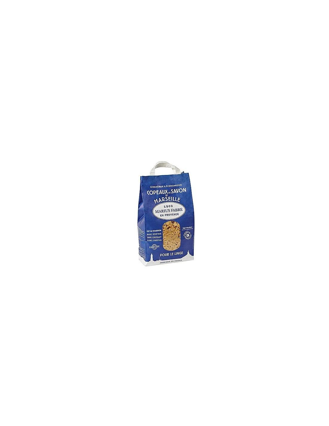 Copeaux de savon de marseille lavoir marius fabre 980 g - Copeaux de savon de marseille ...
