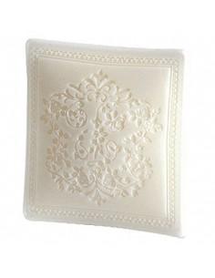 Pillow shape soap, Linge blanc, Amélie et Mélanie, 100 g