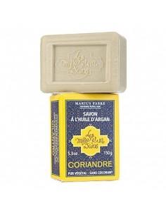 """Soap with Argan oil, 1001 Bains """"Les Mille et un Bains"""", Marius Fabre, 3 fragrances, 150 g"""