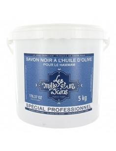 """Black Soap, 1001 Bains """"Les Mille et un Bains"""", Marius Fabre, 5 kg"""