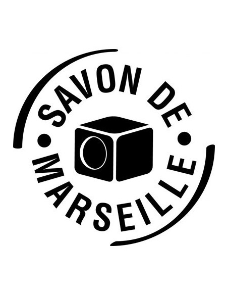 Bar of Savon de Marseille with wire cutter in wooden box, Nature, Marius Fabre, 2,5 Kg