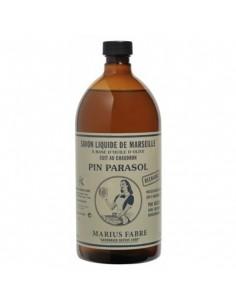 Savon liquide de Marseille parfumé aux huiles essentielles, Nature, Marius Fabre, 1 L