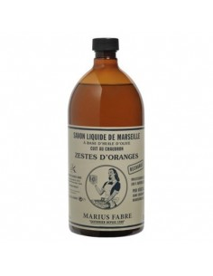 Refill Savon de Marseille flüssig mit ätherischen Ölen, Nature, Marius Fabre, 1 L (3 Duftrichrungen)