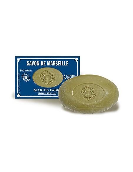 Savon de Marseille Soap with Olive Oil, Nature, Marius Fabre, 150 g