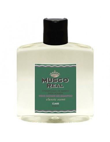 Shower Gel/Shampoo, Classic, Musgo Real, 250 ml