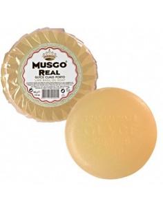 Savon glycériné pre-rasage (Glycerin Oil Soap), Lime Basil, Musgo Real, 165 g