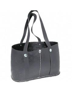 Multifunktionelle Einkaufs- und Strandtasche aus recycelten Reifen, Tadé