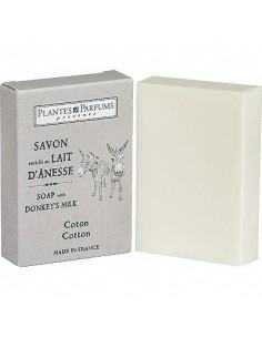 Donkey Milk Soap, Cotton 100 g