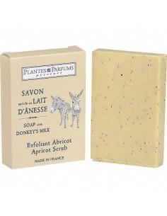 Donkey Milk Soap, Apricot body scrub, Abricot, 100 g