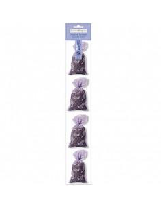4 Lavender sachet, Ventoux, Tulle netting