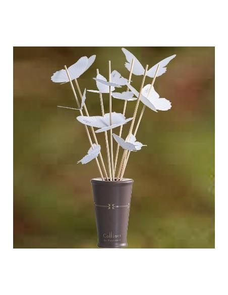 Bouquet aromatique avec Papillons, Collines de Provence, Bambou Lotus, 100 ml