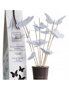 Aromastrauß mit Schmetterlingen, Collines de Provence, Rose, 100 ml