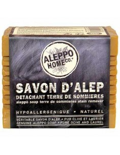 Aleppo Soap, Stain Remover with Terre de Sommieres, Aleppo Home Co, Tadé,  250 g