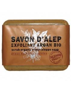 Savon d'Alep Exfoliant avec de l'Huile d'Argan Bio, Tadé, 100 g