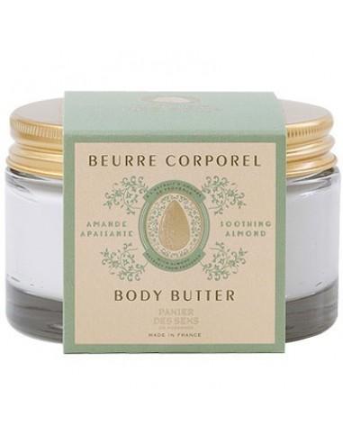 Beurre corporel, Panier des Sens, Amande, 200 ml
