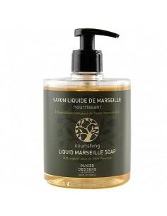 Flüssigseife Savon de Marseille, Panier des Sens, Bio Olive, 500 ml