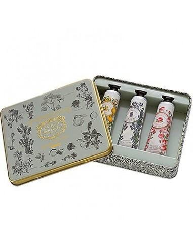 Geschenkbox Handcreme, Panier des Sens, Lavendel, Provence, Rose,  3 x 30 ml