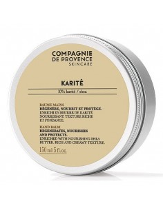 Baume mains, Karité, Compagnie de Provence, 150 ml