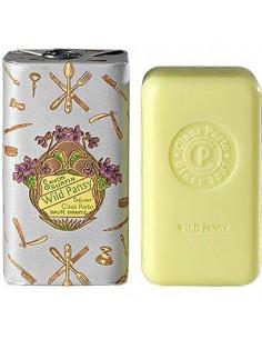 Seife, Classico, Claus Porto, Casa Dos Metais, Wild Pansy (wildes Stiefmütterchen), 150 g