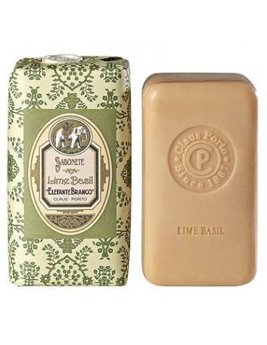 Seife, Classico, Claus Porto, Elefante Branco, Lime Basil (Limette Basilikum), 150 g