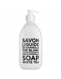 Liquid Marseille Soap, Black and White, Compagnie de Provence, White Tea, 500 ml