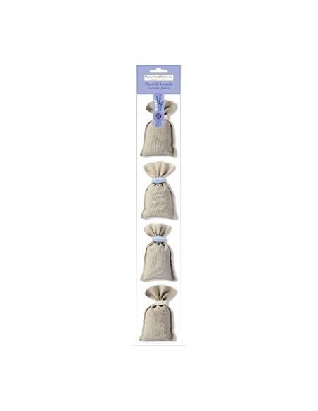 4 Lavender Sachets with cicada