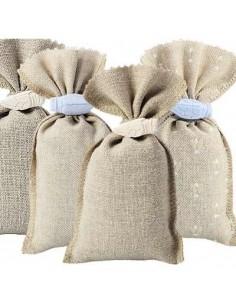 4 Sachets de lavande avec cigale