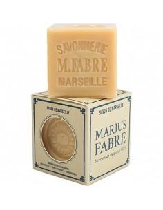 Cube of Savon de Marseille, Nature, Marius Fabre, Palm oil, 200 g