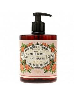 Liquid Marseille soap, Absolute, Panier des Sens, Rose Geranium, 500 ml