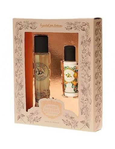 Eau de Parfum und Körperlotion, Panier des Sens, Geschenkset, Provence, 50 ml