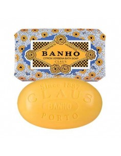 Seife, Deco, Claus Porto, Banho, Citron Verbena (Zitrone Eisenkraut), 150 g