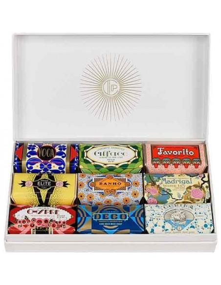 Geschenkebox Seife, Deco, Claus Porto, 9 x 50 g