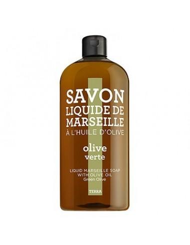 Flüssigseife Savon de Marseille, Terra, Compagnie de Provence, Nachfüllflasche, 1000 ml