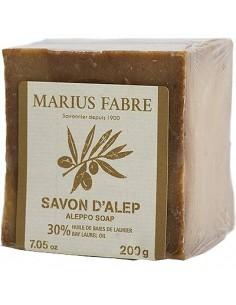 Savon d'Alep 30 %, Alep, Marius Fabre, 200 g